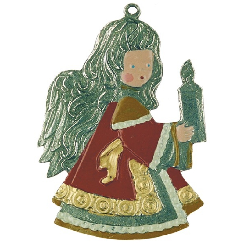 zinnfigur engel mit kerze